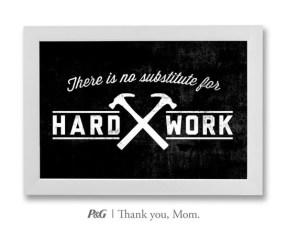 """""""Não há substituto para o trabalho duro."""""""