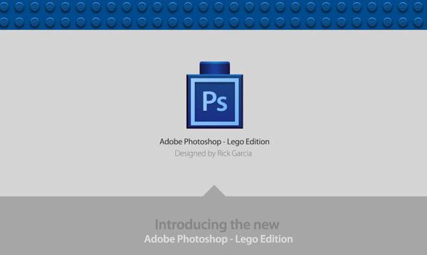 PHOTOSHOP LEGO