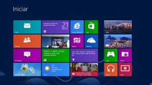 Sistema operacional Windows 8.