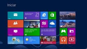 Sistema operacional Windows 8.