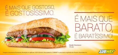 Subway Steak Churrasco FB