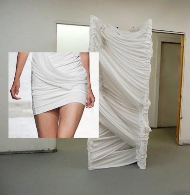 Arte de Carlie Trosclair 2011 e Barbara Bui SS15