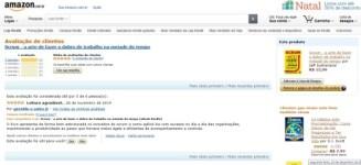 Amazon e suas recomendações personalizadas.