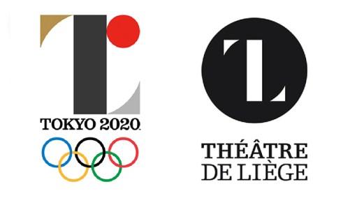 Caso logo olimpíadas de Tokio 2020.