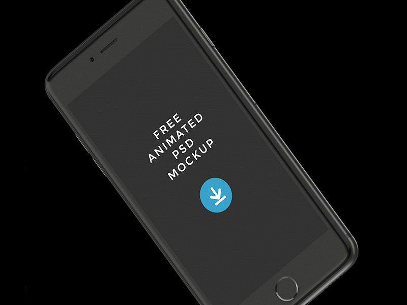 Animated-iPhone-PSD