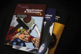 Quadrinhos & Educação Vol. 1, 2 e 3