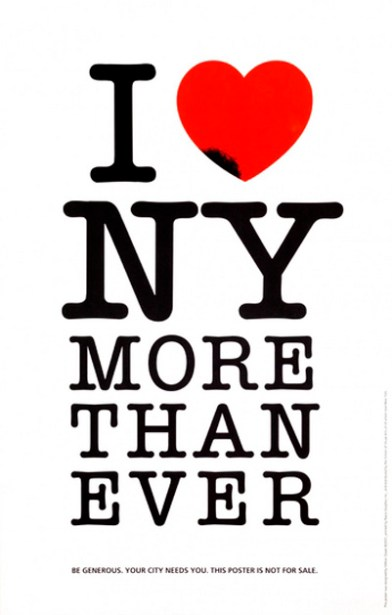 Milton Glaser, I love NY more than ever