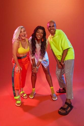 Duda Beat, Ludmilla e Hiran para campanha Melissa + Rider