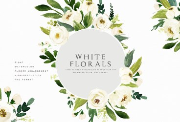 watercolor flower clip clipart graphic floral illustrations box flowers graphics designs creative source pretty