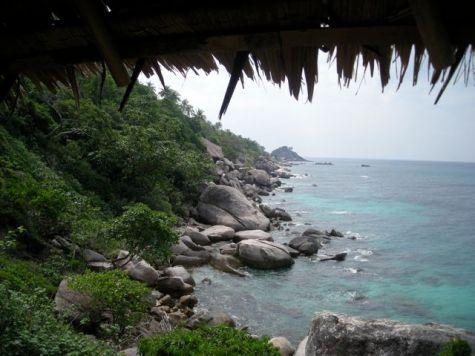 Ko Tao, la côte ouest