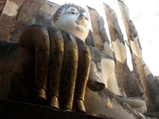 Grand buddha assis, Sukhotaï