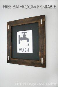 Bathroom Printable Wall Art - Free Printable Wall Art ...