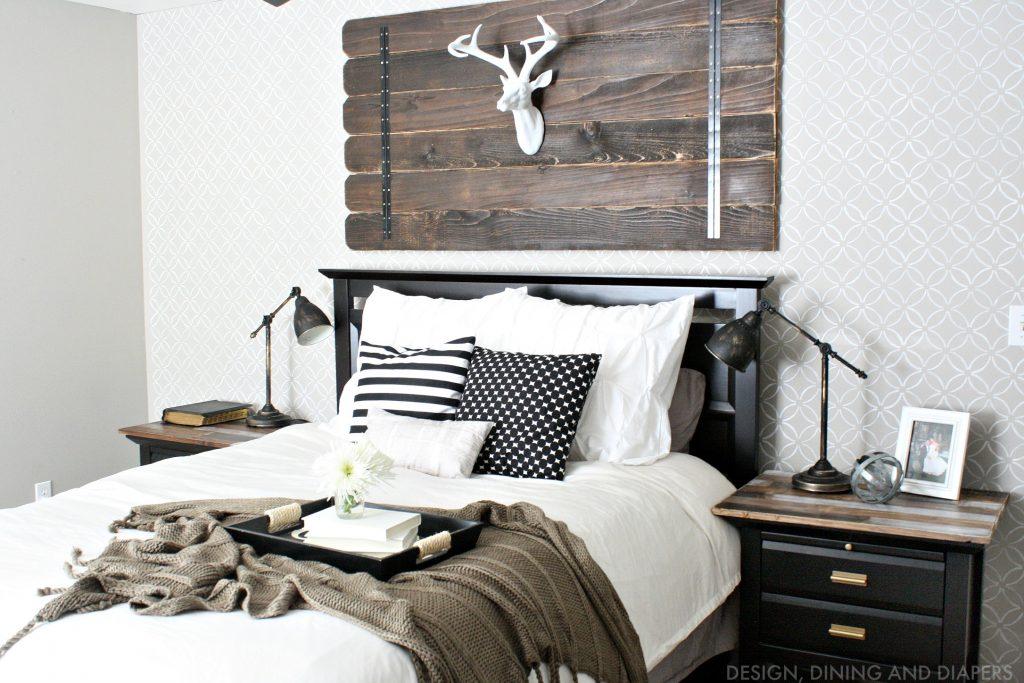 Modern Farmhouse Bedroom Update