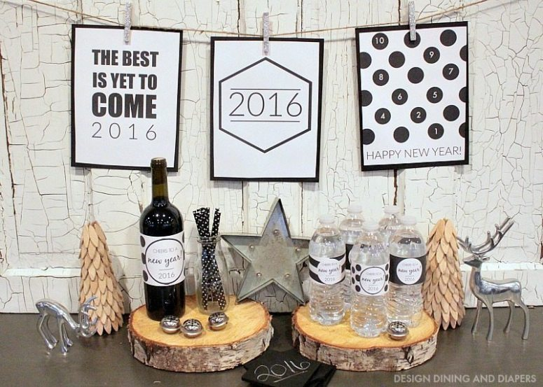 2016 New Years Printables