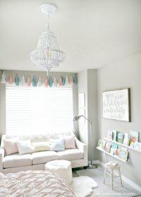 Girl Room Sneak Peek: New Lighting - Taryn Whiteaker