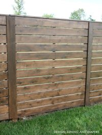 Tips For Staining A Fence - Taryn Whiteaker