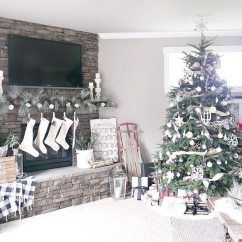 Pictures Of Living Room Decorated For Christmas Modern Style Ideas Decorations Taryn Whiteaker