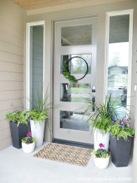 Front Porch Planter Ideas - Get Your Porch Ready For Spring