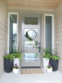 Front Porch Planter Ideas - Taryn Whiteaker