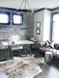Modern Rustic Office Design - Taryn Whiteaker