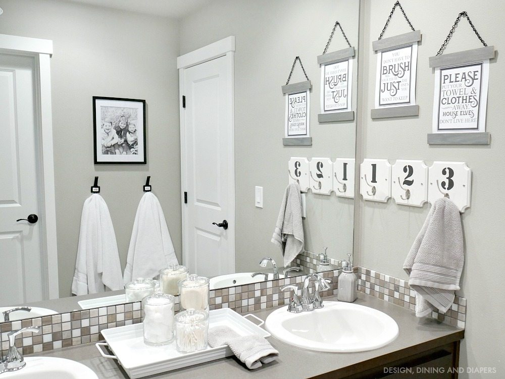 Kids Bathroom Decor  Taryn Whiteaker