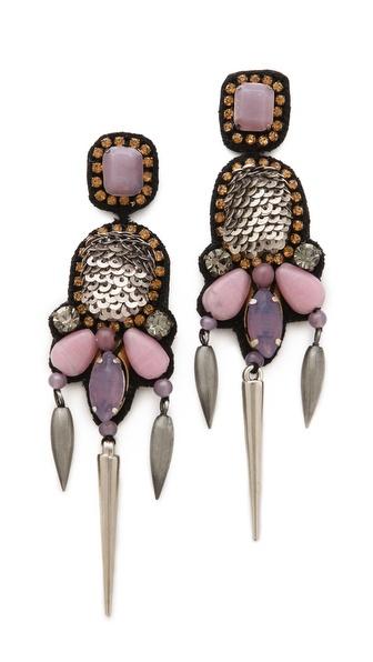SHOPBOP, Deepa Gurnani, Embellished Chandelier Earrings, $99