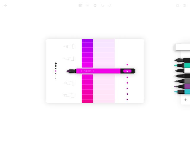 Nastavení tužky