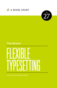 Flexible Typesetting