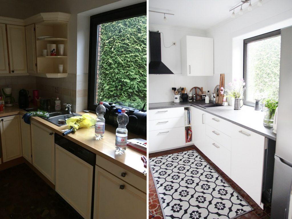 Alte Küche Neu Gestalten Vorher Nachher   17 Kreative Vorher ...
