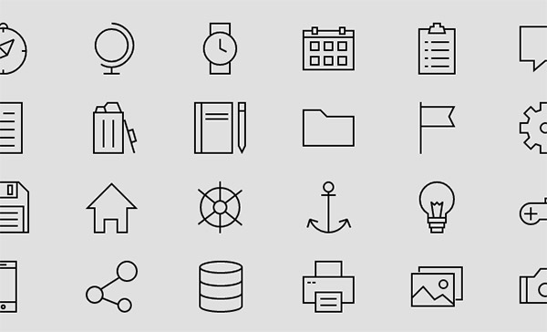 30 Best Collections Of Free Icon Fonts For Designers
