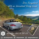international driving license