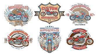 мотоцикл вектор