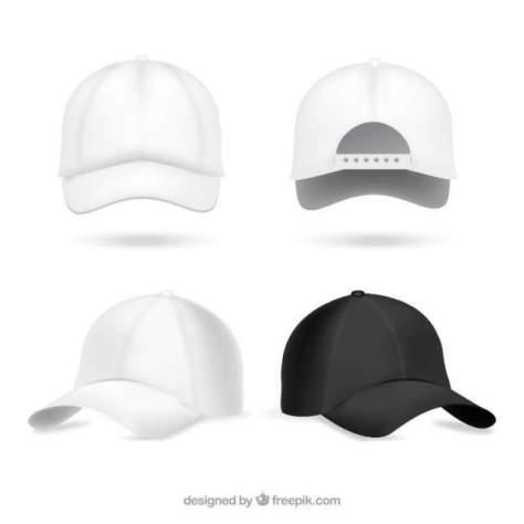 Подборка PSD Mockup - файлов шапок и кепок