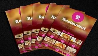 Коллекция креативных меню для ресторана и кафе