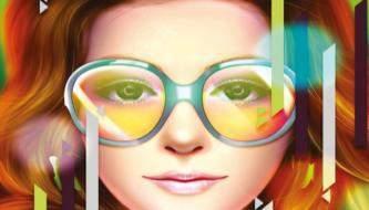 Создаем красивый портрет в ярких цветах в фотошоп