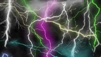 Подборка кистей для фотошоп на тему молнии