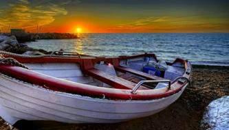 Красивая подборка фонов на тему Лодки