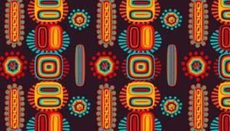 Этнические, племенные Паттерны для ваших работ