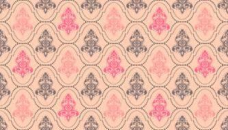 Коллекция красивых паттернов - Дамасский орнамент