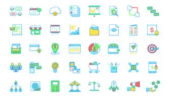 Подборка лучших иконок для бизнеса и финансов
