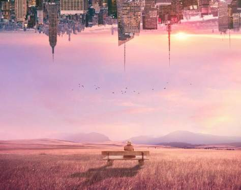 How to Create a Surreal Scene of an Upside Down City With Adobe Photoshop 23
