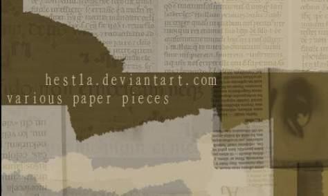 Привлекательные бумажные кисти
