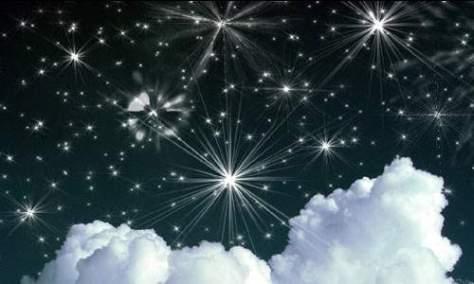 Мерцающие такие яркие звездные кисти