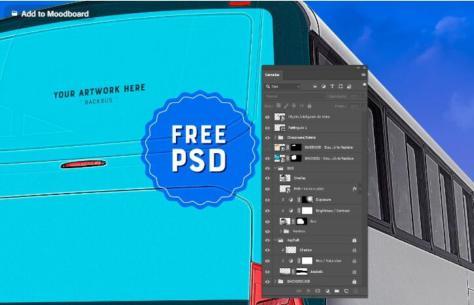 Busdoor-Backbus-PSD-Mockup