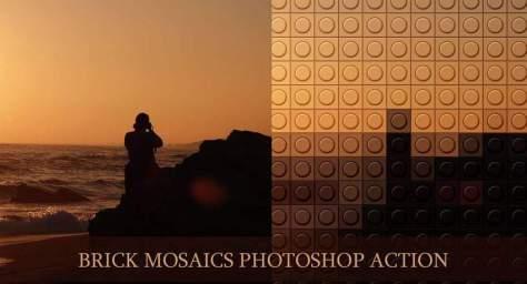 Кирпичные мозаики спецэффекты фото бесплатные фотошоп акции