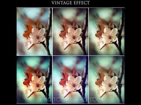 Винтажный эффект фотошопа