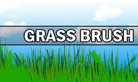 Действительно крутой набор кистей для фотошопа из травы