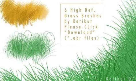 Травы для фотошопа
