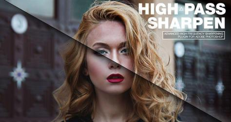 Highpass Sharpen Photoshop Плагин Фотограф Плагин