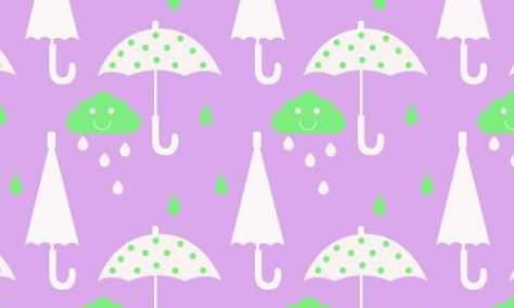 Дождливый зонтик бесплатно